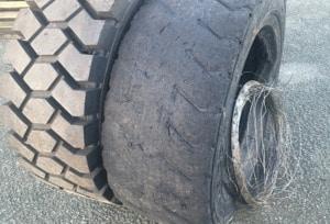 Bertrand Pneus distribue pneus Manutention gonflable