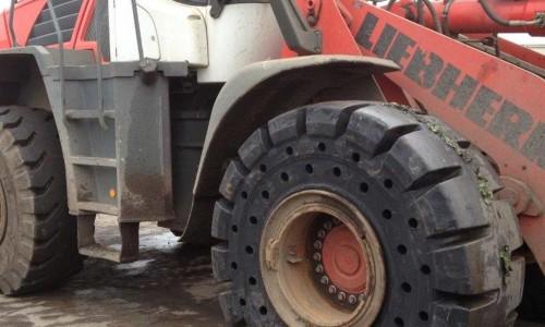 Bertrand pneus distribue pneus pleins alveolés