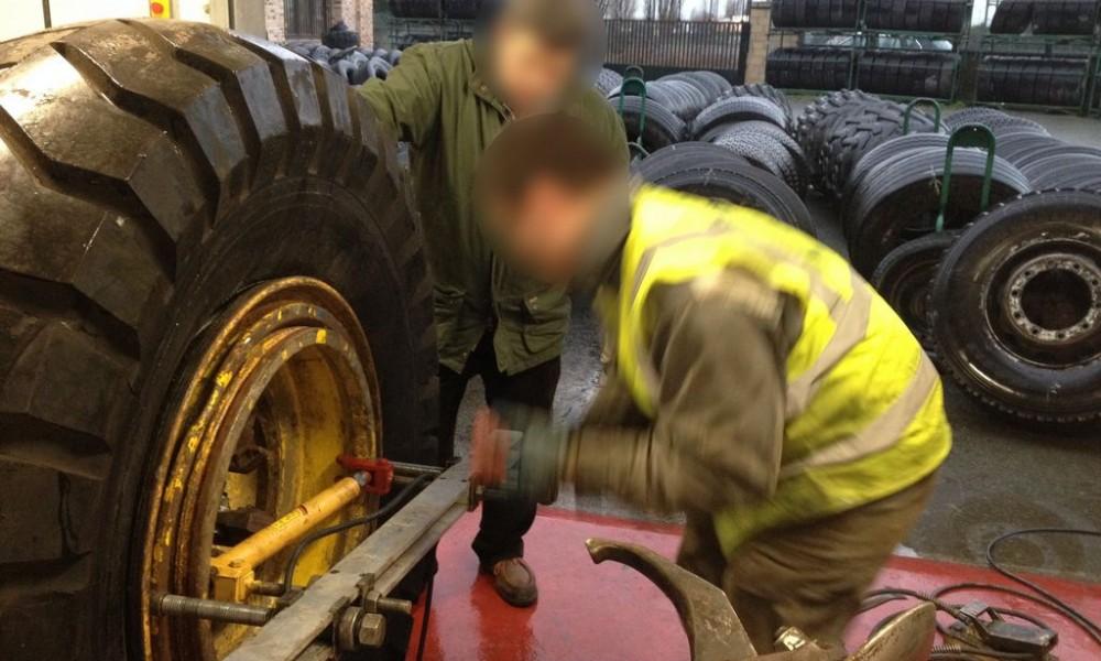 bertrand pneus génie civil atelier