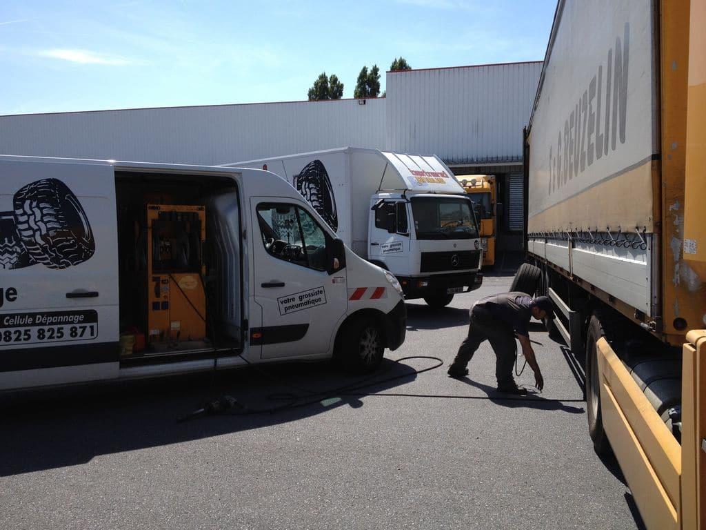 bertrand pneus distribue entretien parc poids lourds