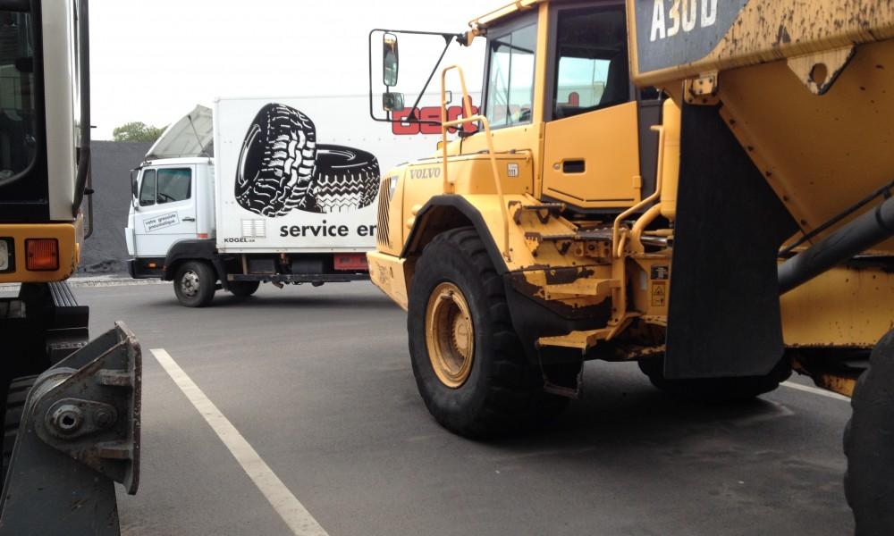 bertrand pneus,montage génie civil