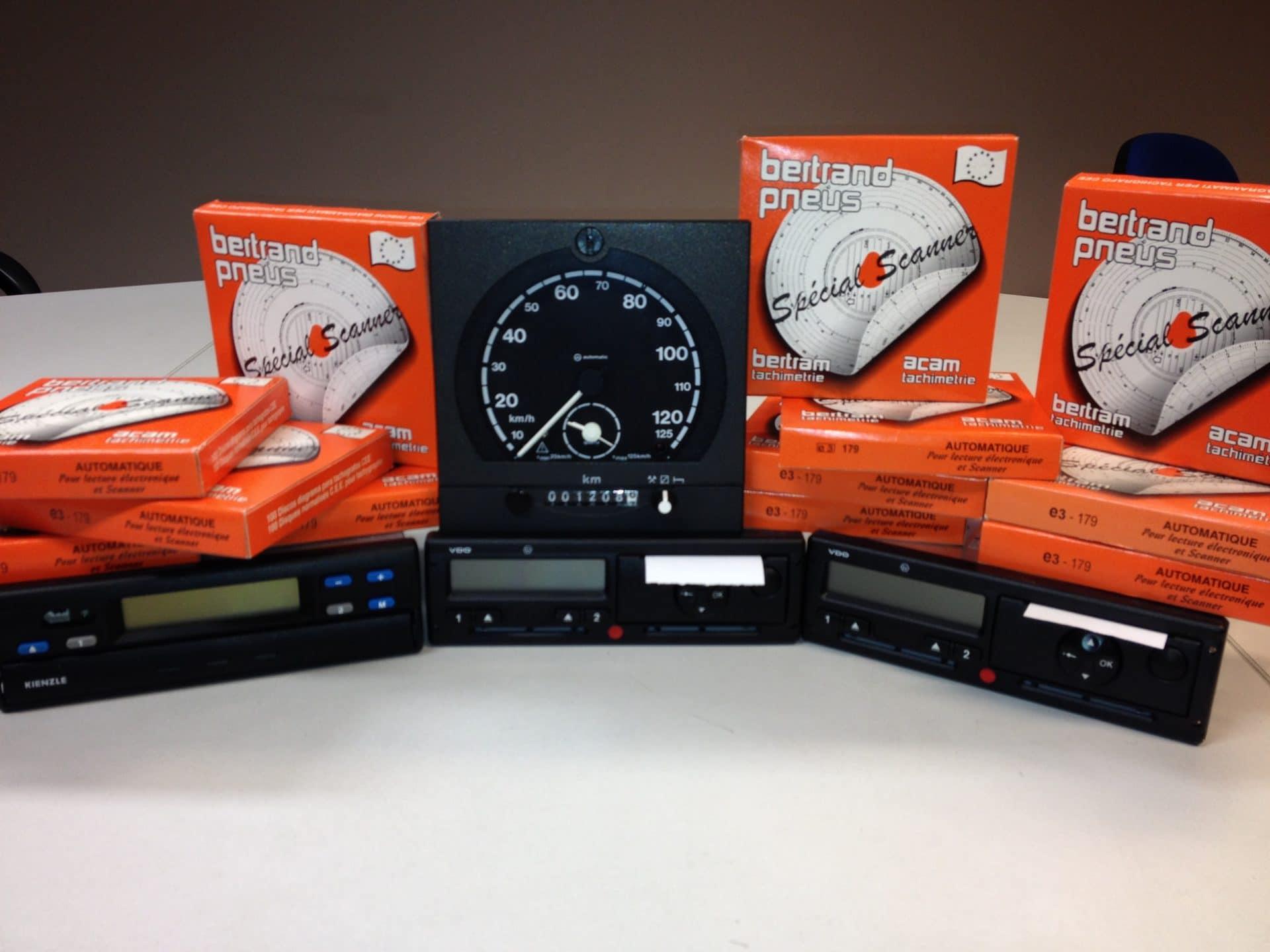 bertrand pneus distribue tachymétrie analogique numérique