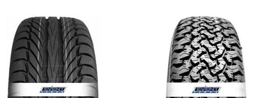 Les pneus Event Tyres pour véhicules particuliers,utilitaires légers, 4×4, prix compétitifs, avec un haut niveau de sécurité, maniabilité et confort