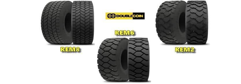 Doublecoin les pneus pour poids lourds et génie civil, une gamme complète de produits pour toutes les utilisations à des prix compétitifs
