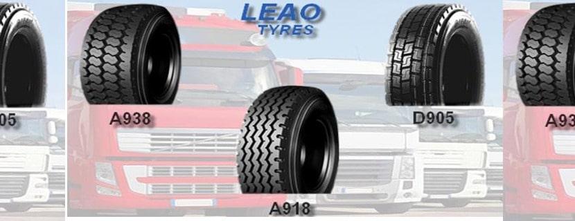 Bertrand Pneus distribue les pneus Leao tyres pour poids lourds