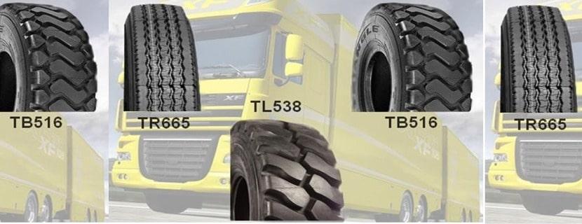 Bertrand Pneus distribue les pneus Triangle pour poids lourds