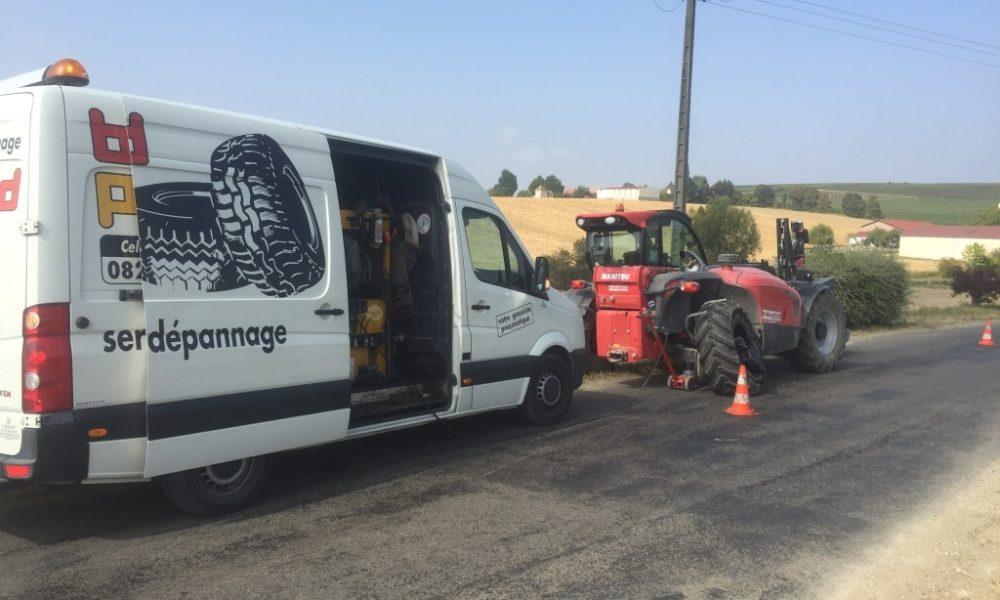 bertrand pneus dépannage agraire chalons reims